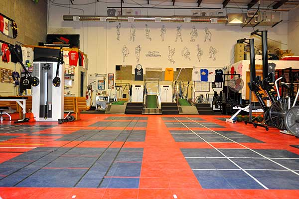 Front Training Area